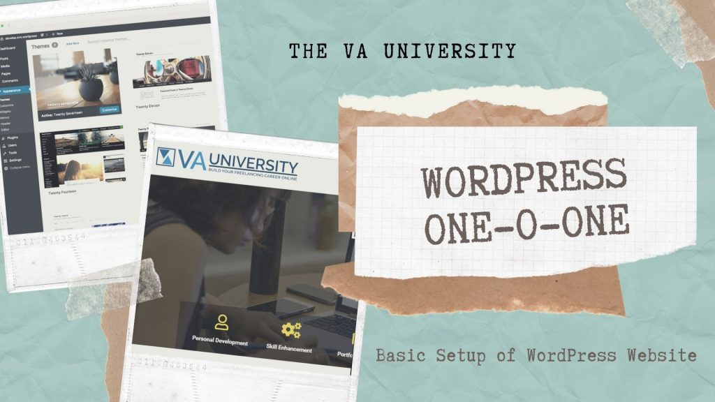WordPress 101 with The VA University