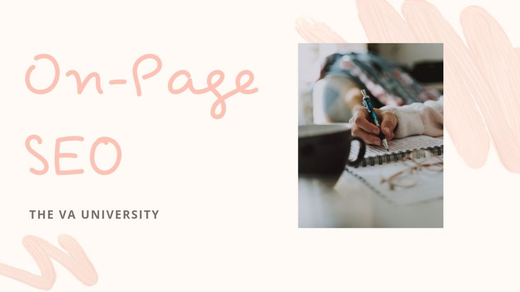On-Page SEO with The VA University