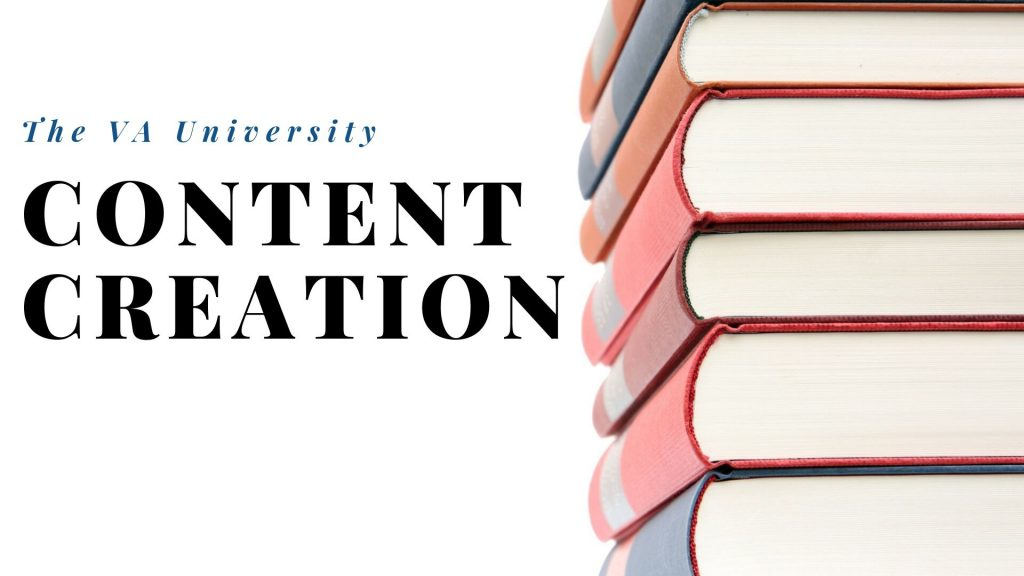 Content Creation with The VA University